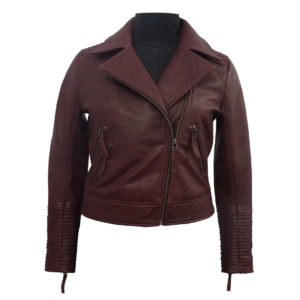 100% Leather Jacket for women